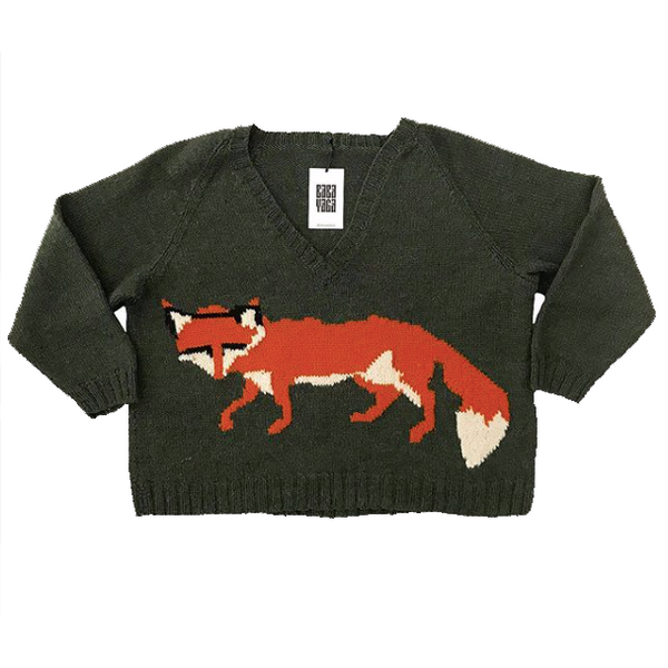 Vintage Fox Sweater