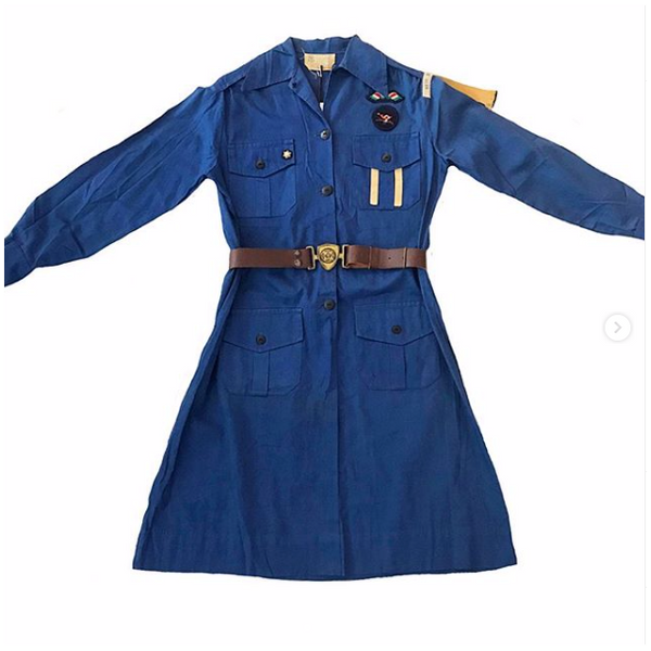 1930's Montreal Girl Guides Uniform