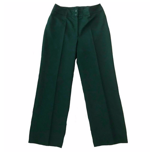 70's Dark Green Trousers