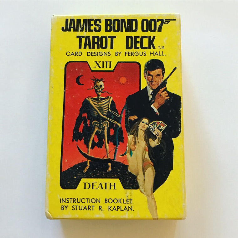 70's James Bond Tarot Deck