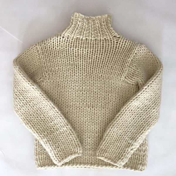 Hand knit Chunky Knit Wool Sweater