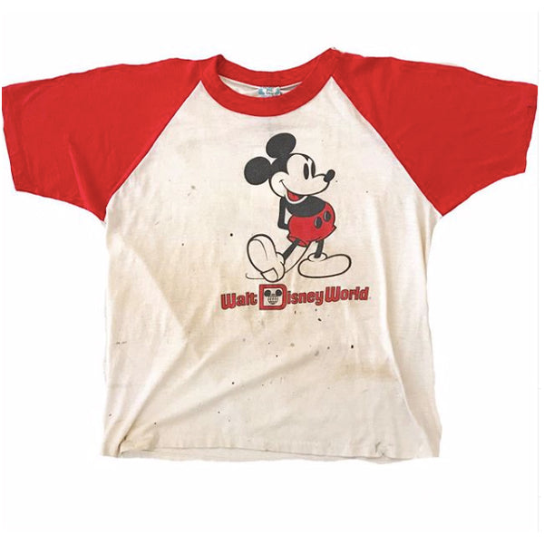 1980's Thrashed Mickey Mouse Tshirt