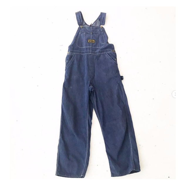 70's Dark Denim DeeCee Overalls