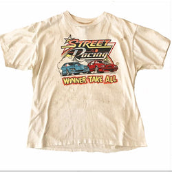 Thrashed 90's Racing Tshirt