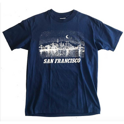 80's Navy Blue San Francisco Tshirt