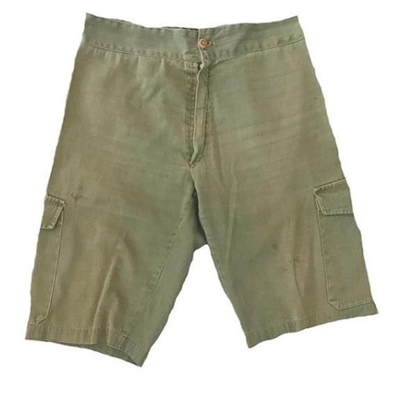 Vintage French Khaki Shorts