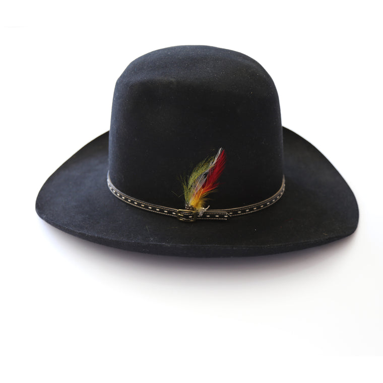 Stetson black bucket hat