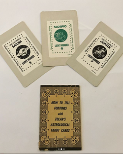 1960's ZOLAR's ASTROLOGICAL TAROT