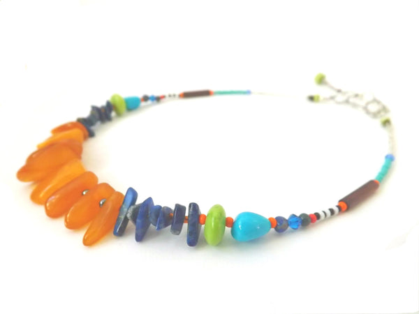 Good Day Sunshine Amber Necklace #2