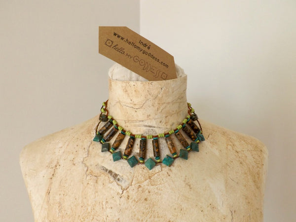 Hathor the Egyptian Goddess Necklace by Hello My Goddess