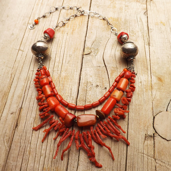 Goddess Kali and the Coral Necklace by Hello My Goddess