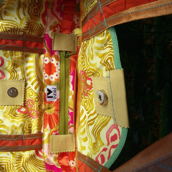 Bali Bag by Hello My Goddess (inside zipper pocket)