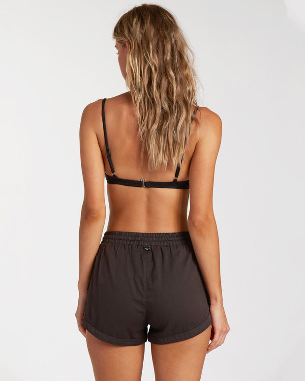 ROAD TRIPPIN SHORT OFF BLACK