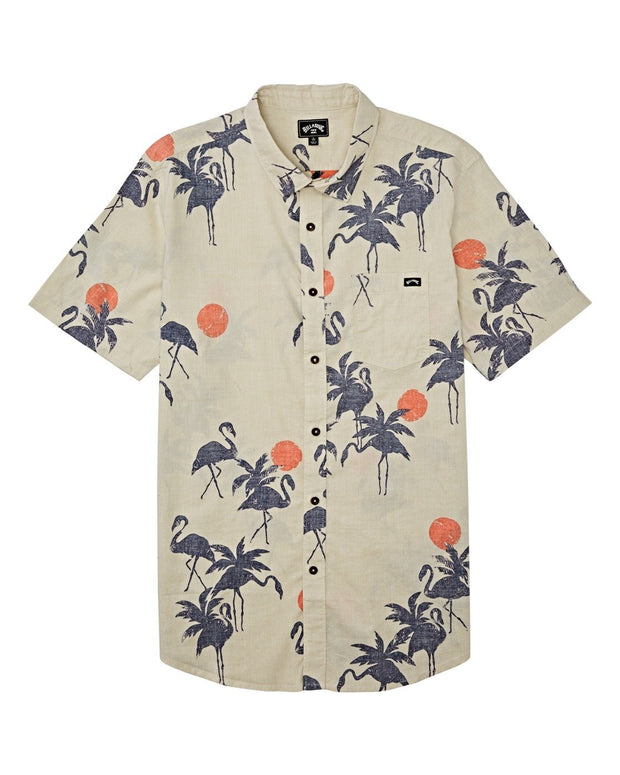 SUNDAYS FLORAL SHORT SLEEVE SHIRT