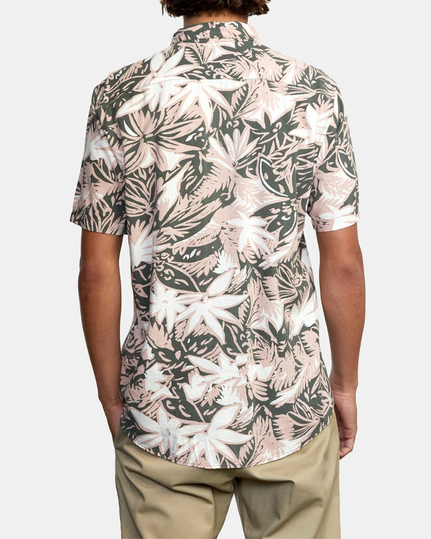 SANDERSON FLORAL SHORT SLEEVE SHIRT