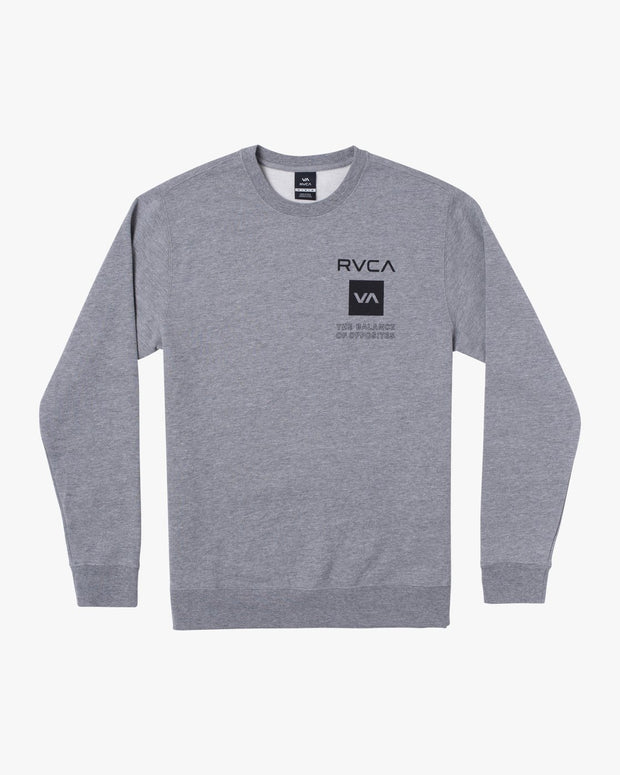 RVCA SPORT GRAPHIC PULLOVER SWEATER
