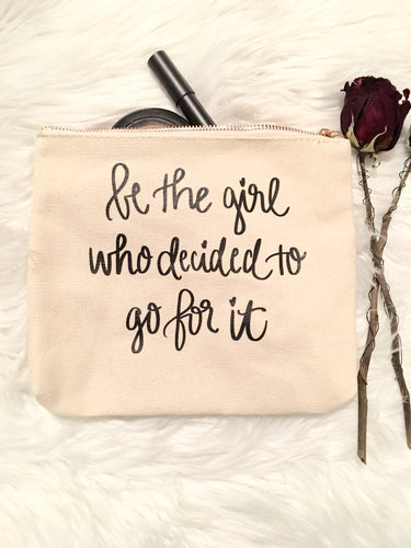 Be The Girl Makeup Pouch