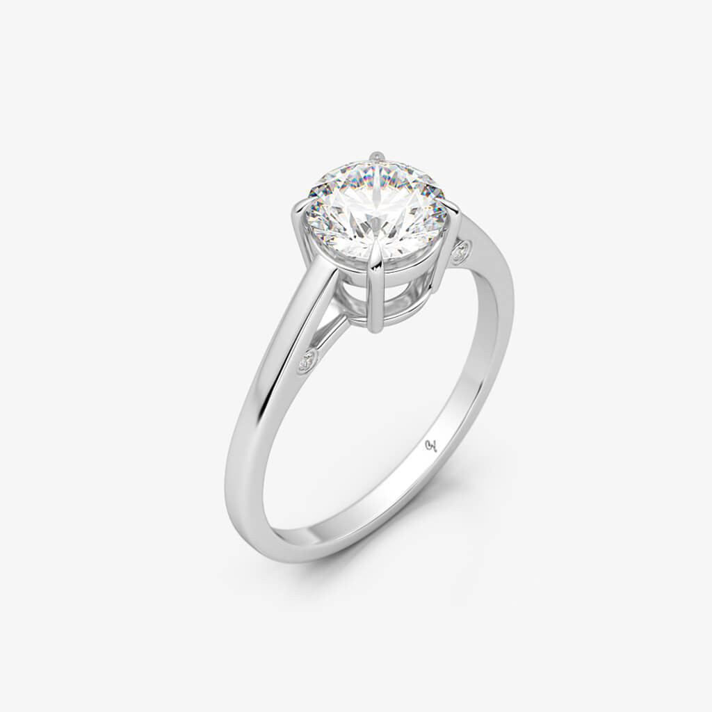 Round Brilliant Solitaire