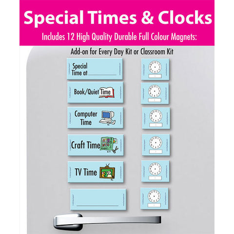 Special Times and Clocks