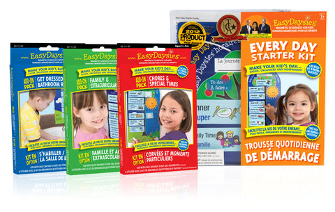 Easy Daysies Big Bundle - BONUS 3 Free Chore Chart E-Books ($21 Value)!