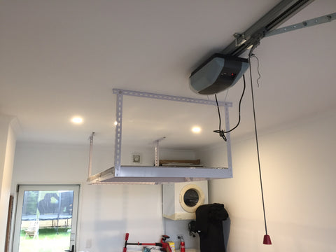 Ceiling racks installed Hobsonville Point