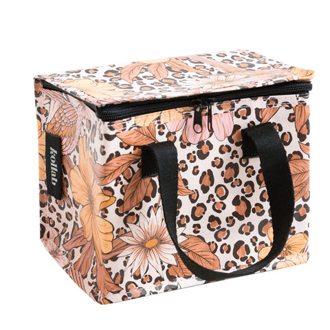 Lunch Box - Leopard Floral