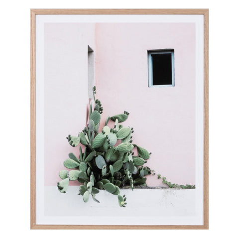 Cactus Corner Framed Print - Middle of Nowhere (Warranbrooke)