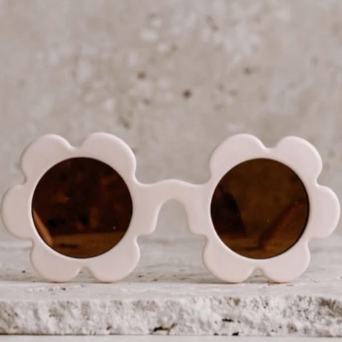 Kids Daisy Sunglasses - Vanilla
