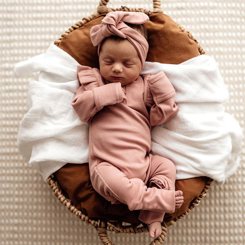 Growsuit (Rose) - Size Newborn (0000)