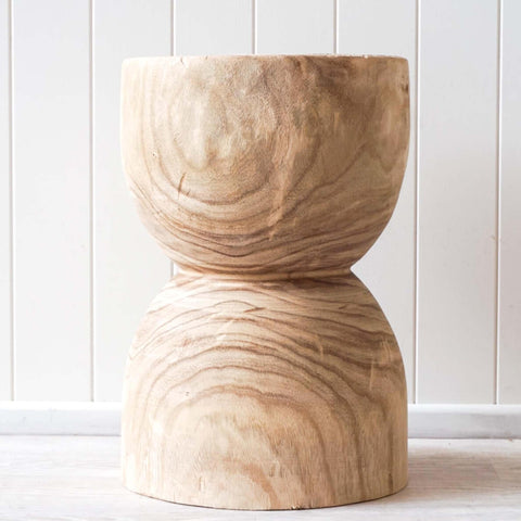 Knox Timber Stool - 31 x 32 x 44 cm