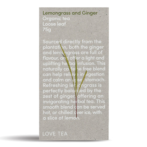 Lemongrass & Ginger - Loose Leaf Box 75g