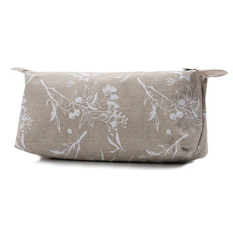 White Flowering Gum Bathroom Bag - Medium