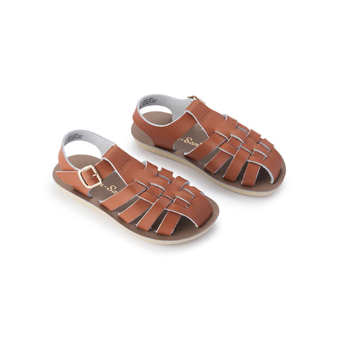 Sun-San Sailor Sandal (Infant) - Tan