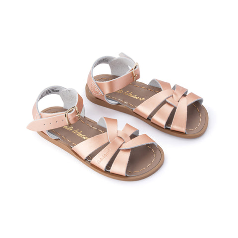 Salt Water Original Sandal (Child) - Rose Gold