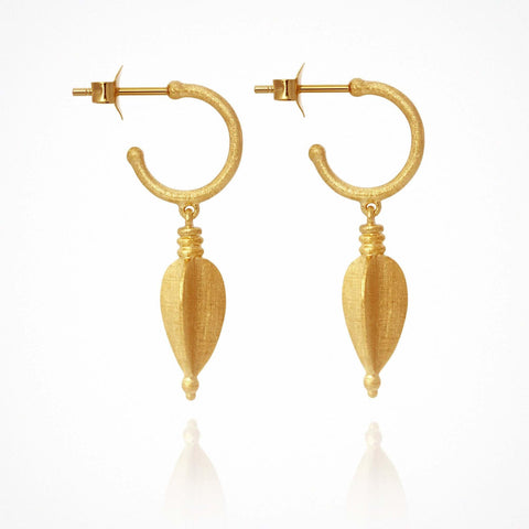 Alena Earrings - Gold