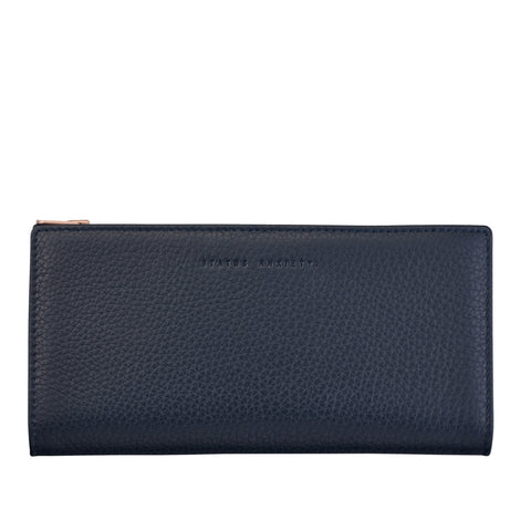 In The Beginning Wallet - Navy Blue