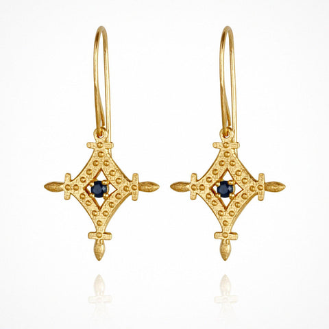 Corin Earrings- Gold