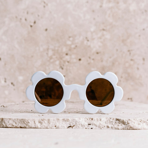 Kids Daisy Sunglasses - Marshmallow