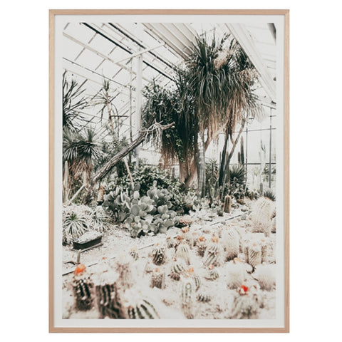 Desert Glasshouse Framed Print - Warranbrooke
