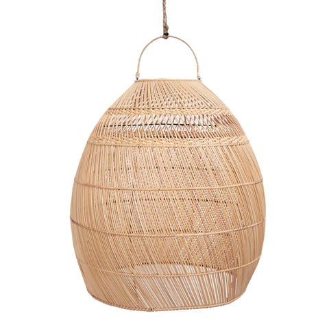 Daliah Rattan Oversized Light Shade- Slim