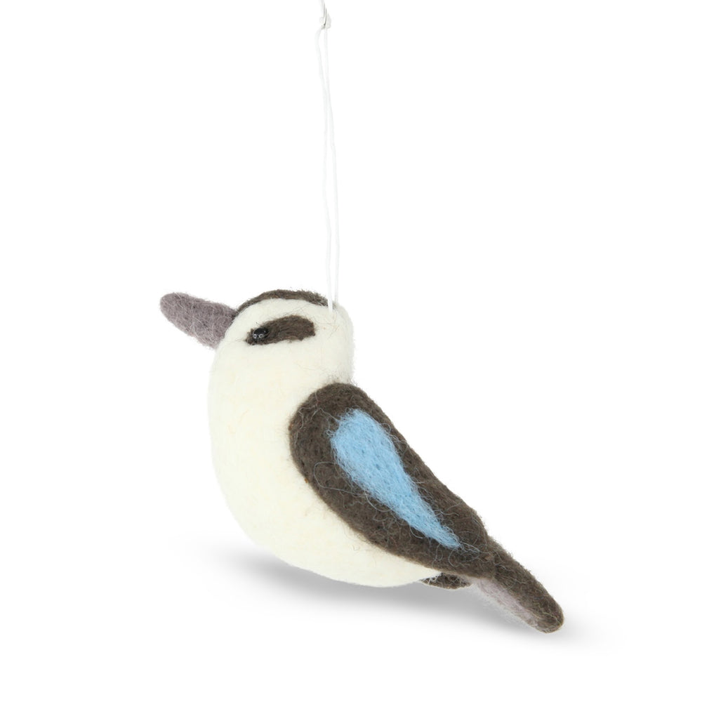 woolhangingkookaburradecoration
