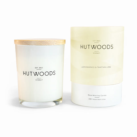 Lemongrass & Tahitian Lime Candle