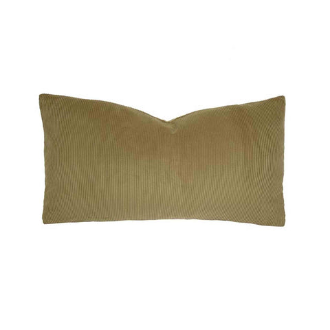 Sloane Rectangle Cushion (Flax) - 30 x 60cm