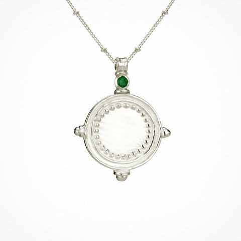 Sura Necklace - Silver