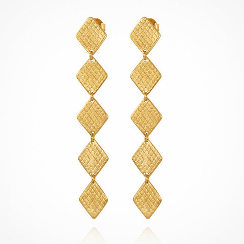 Thera Earrings- Gold