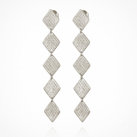 Thera Earrings - Silver