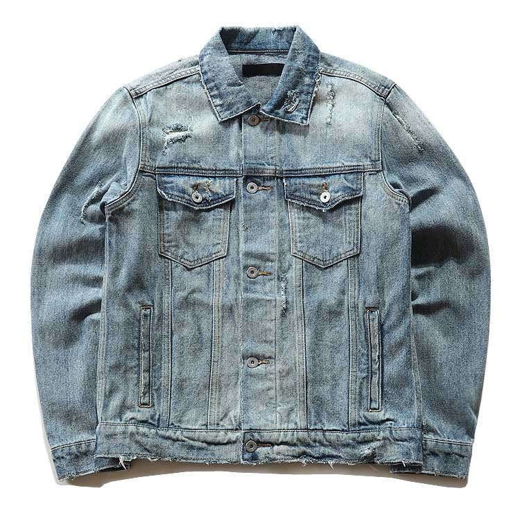 "Heartlessking ""FIngers Up"" Denim Jacket"