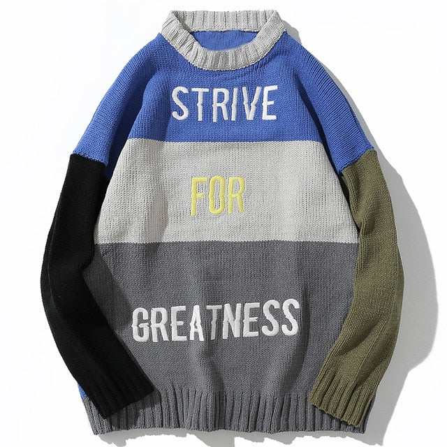 """strive for greatness"" winter 18/19 holiday exclusive x c/o Aelfric Eden"