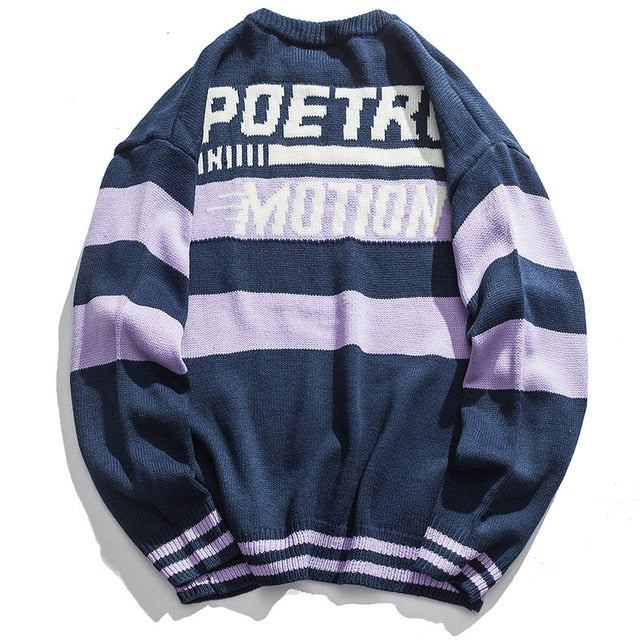 Poetry Motion Crew Sweater Winter 18/19 x Aolamegs