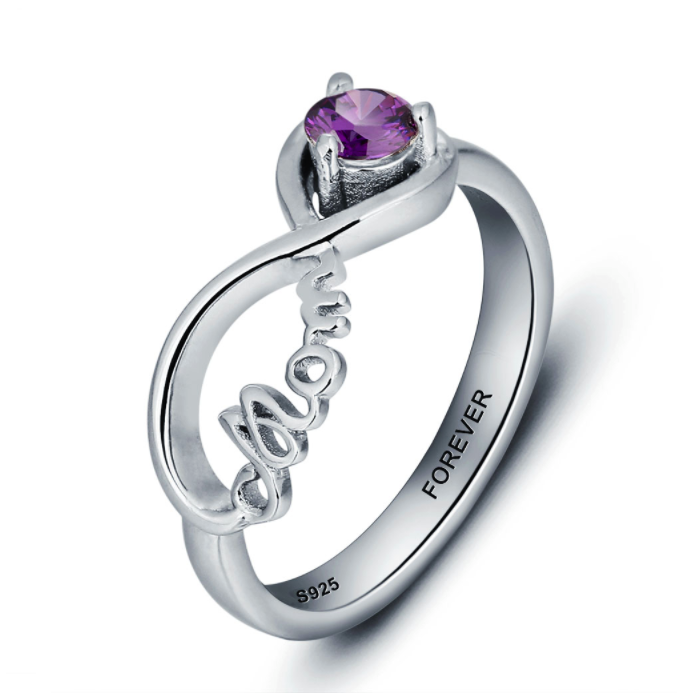 hearts fullxfull double jewelry ring il mother large rings daughter collections promise mothers infinity